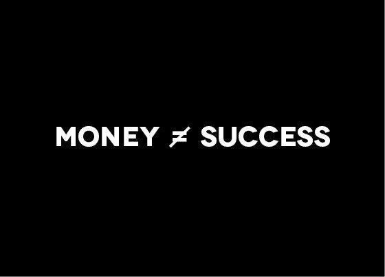 تصویر از موفقیت تنها پول نیست