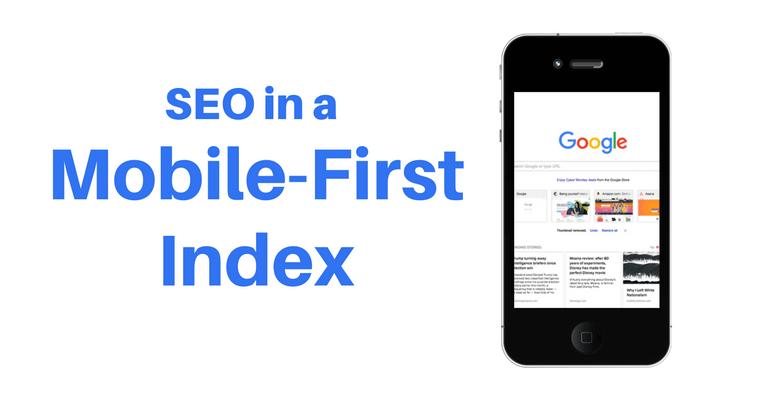 تصویر از گسترش mobile first indexing در گوگل