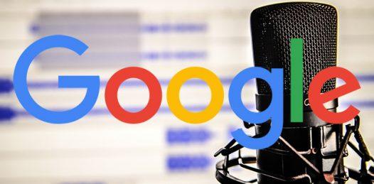 تصویر از پادکست های صوتی در نتایج گوگل قرار گرفتند !!